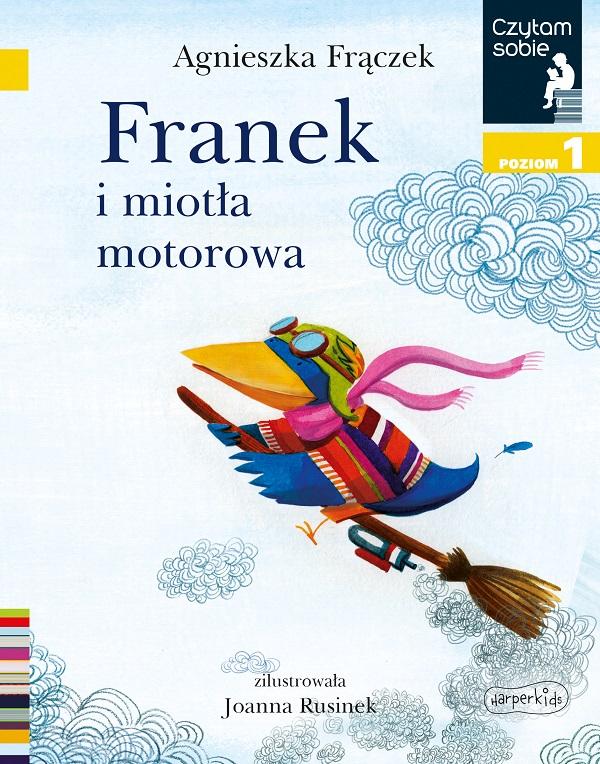 Franek i miotła motorowa